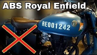Why not to buy Royal Enfield Signals - ABS Royal Enfield