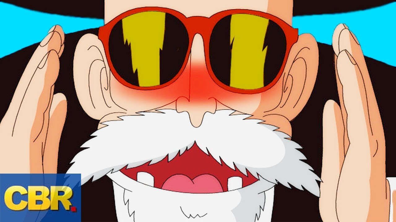 The Evolution Of Master Roshi Dragon Ball Youtube