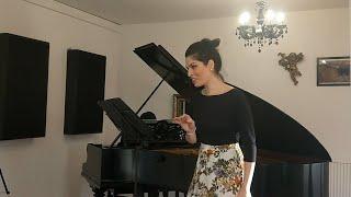 """Beethoven: """"Adelaide"""", Op. 46 (Na'ama Goldman & Hana Lee)"""