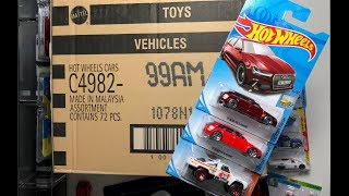 Lamley Unboxing: Hot Wheels 2018 M Case (with Super Treasure Hunt!)