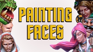 How to Paint Faces - Kujo Painting [Tutorial]