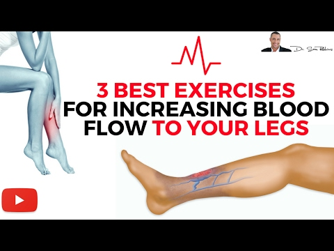 ♥ 3 Best Exercises For Increasing Blood Flow & Circulation To Your Legs