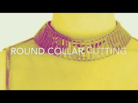 How To Cut Round Collar Neck
