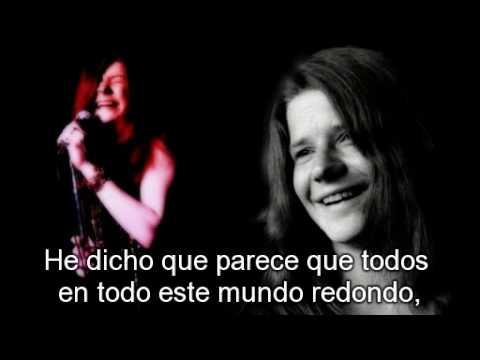 Janis Joplin Down on me (subtitulada en Español)