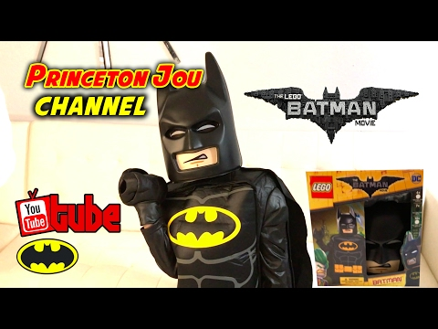 New Lego Batman Movie Costume [Official Unboxing Toy Review] Princeton Jou☻ Brand New 2018