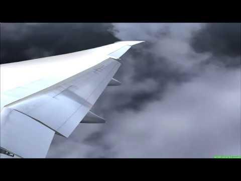 EMIRATES Boeing 777-200 LR   Landing MAHE Airport/Seychelles - FSX [HD]