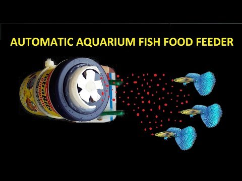 Aquarium Fish Food Feeder | Fish Food Feeder DIY