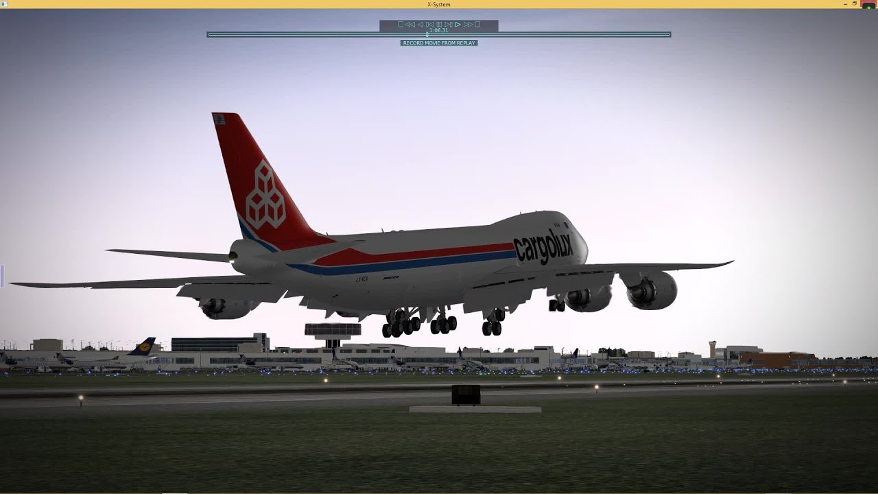 The Eagle Has Landed - SSG 747-8 Freighter X-Plane 10!
