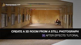 بعد الآثار التعليمي: إنشاء غرفة 3D من صورة