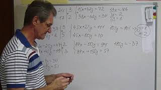 ОГЭ-2019. Система двух уравнений с двумя неизвестными  Метод сложения