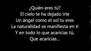 UN ANGEL COMO EL SOL TU ERES - EROS RAMAZZOTTI  (Letra)