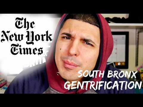 South Bronx in The New York Times: Good or Bad?