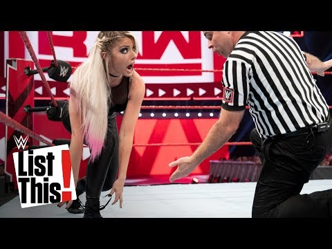 5 unforgettable wardrobe malfunctions: WWE List This!