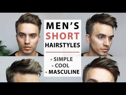 Men's Short Hairstyles 2017 | SIMPLE, COOL & MASCULINE!