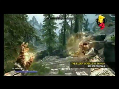 The Elder Scrolls V: Skyrim -- G4 Gameplay Demo (E3 2011)