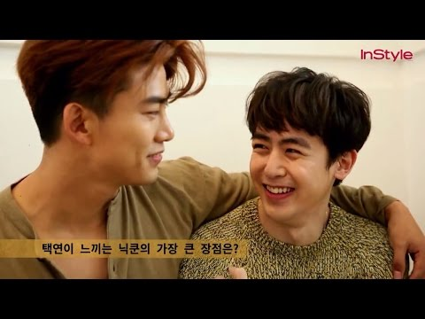 160121 [InStyle Interview/BTS] 2PM Nichkhun&Taecyeon for InStyle Korea Magazine, February 2016 Issue