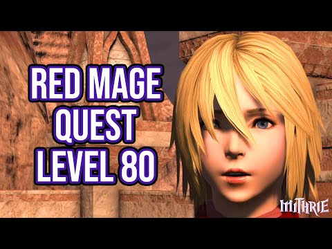 FFXIV 5.3 1499 Red Mage Quest Level 80