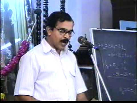 01 Modern Chemistry & Ancient Science - Sanskrit College, Chennai - 01/02