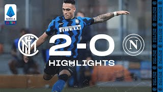 INTER 2-0 NAPOLI | HIGHLIGHTS | Three points wearing the 2020/21 home kit! 👊🏻⚫🔵