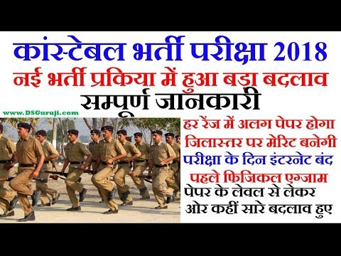 Rajasthan Police Constable 2018 Exam Date | 20681 Posts  | New Exam Pattern | Raj Police Vacancy |