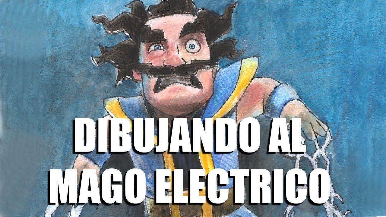 Dibujando Al Mago Eléctrico: Dibujando Al Mago Eléctrico Para TROXJED C