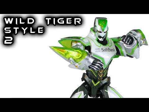 S.H. Figuarts WILD TIGER STYLE 2 Tiger & Bunny Action Figure Toy Review