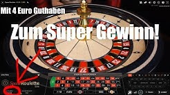 Live Roulette - Wir spielen uns hoch! 4 Euro Guthaben 💰