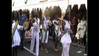 St. Vincent and the Grenadines National Heritage Parade 2012