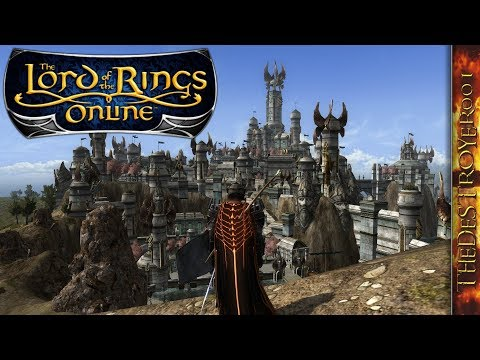 LOTRO – Guardian Leveling In Western Gondor [Aug. 30, 2018]