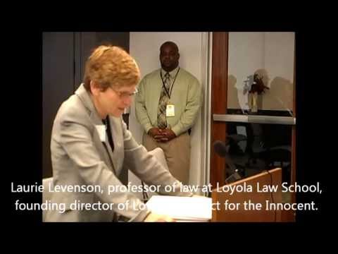 141211 CSB Levenson testimony, Director of Loyola Law Schools' Project Innocent