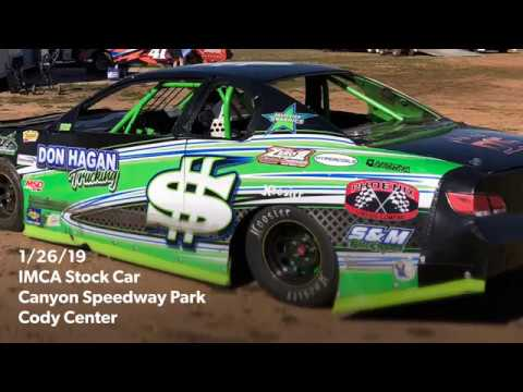 1/26/19 Canyon Speedway Park IMCA Stock Car Main Event