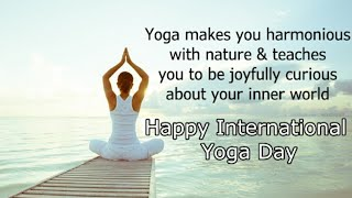 Happy yoga day status /International yoga day status /yoga day images, status