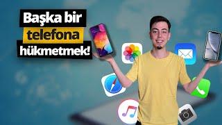 Telefona uzaktan bağlanıp her şeyi gösteren uygulama!  - AirDroid screenshot 1