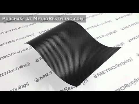 3M DI-NOC Carbon Fiber Vinyl Gloss Black CA-1170 Architectural Finishes