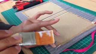 Encuadernación tapa dura (cosida) - Tutorial