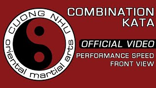 Cuong Nhu Combination Kata - Official Kata - Performance Speed - Front View