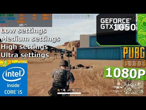 PUBG LITE | GTX 1050 + I5-7300HQ | 12GB | Ultra-low Settings