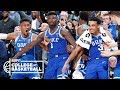 Zion Williamson  R J  Barrett score 61 points for Duke vs  Kentucky   College Basketball Highlights