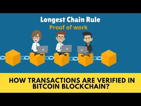 How transactions are verified in Bitcoin Blockchain - Longes