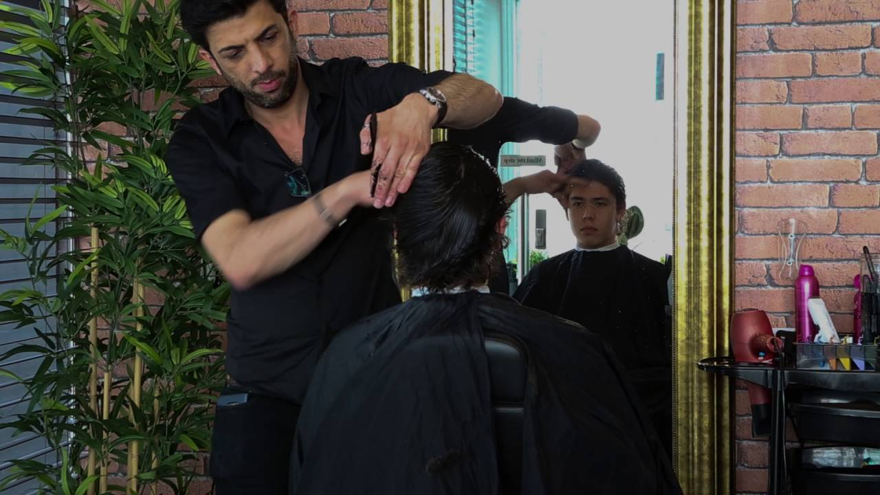 Man Grooming Scissors And Guys Kings Road London