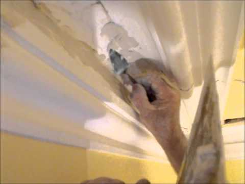 Plastering Cornice And Plaster Repairs.. Preparation  - Lath & Plaster ~ Hawthorn Plaster Repairs