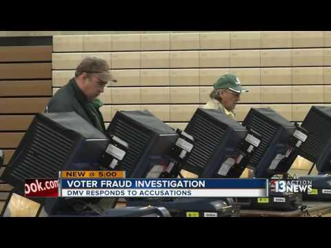 Nevada DMV responds to voter fraud issue