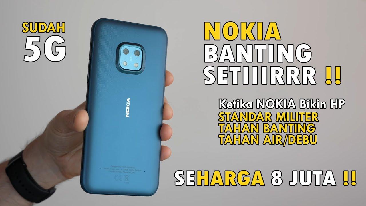 Nokia XR20 Indonesia | HP NOKIA Tahan Banting | Perlu Masuk Resmi Indonesia ??