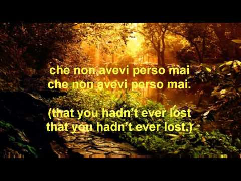 Andrea Bocelli - La Voce Del Silenzio (English Translation)