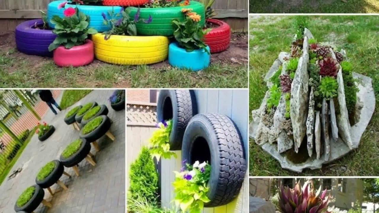 10 Creative Vegetable Garden Ideas: Container Garden Design Ideas