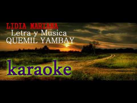 Lidia Mariana karaoke de polca electrónica paraguaya