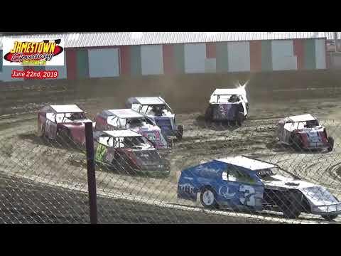 Jamestown Speedway WISSOTA MW Modified Heats (6/22/19)