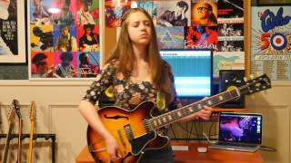 -Black Magic Woman- Guitar Cover By Ayla