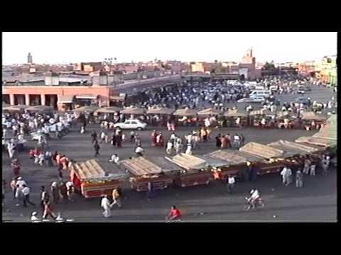 Marrakesh, Jemaa el Fna market