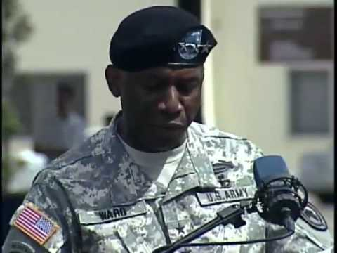 U.S. Army Africa Change of Command
